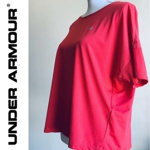 Under Armour NWT Dark Pink Jersey Athletic Top